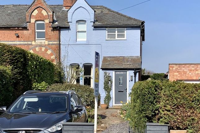Thumbnail End terrace house for sale in Old Eign Hill, Hereford