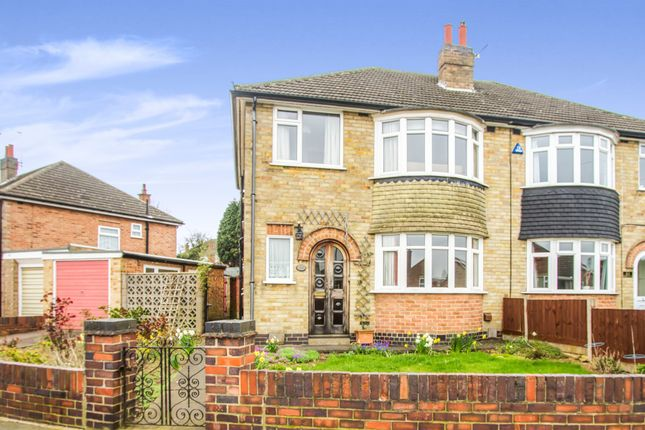 Thumbnail Semi-detached house for sale in Jean Drive, Leicester