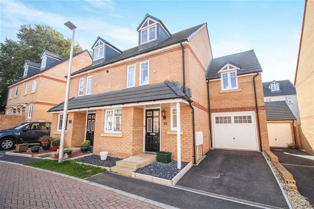 Thumbnail Semi-detached house for sale in Buckland View, Bideford
