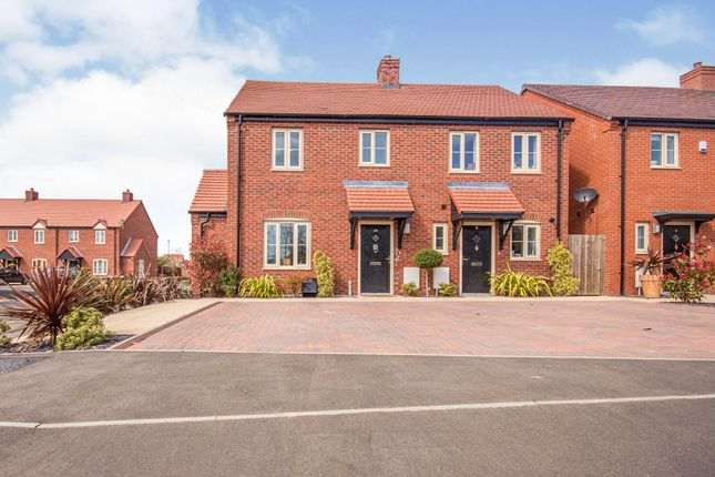 Thumbnail Semi-detached house for sale in Gardeners Way, Southam