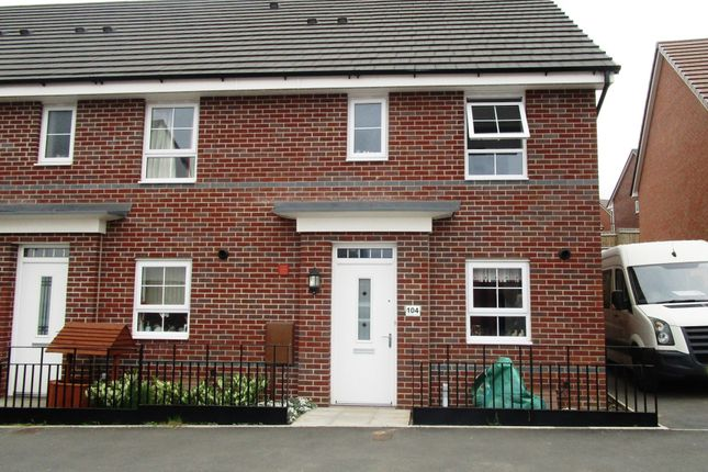 Thumbnail End terrace house for sale in Columbia Crescent, Oxley, Wolverhampton