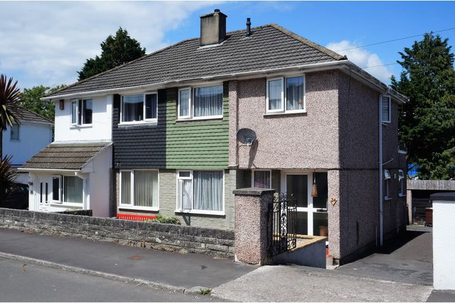 Thumbnail Semi-detached house for sale in Dudley Road, Plymouth