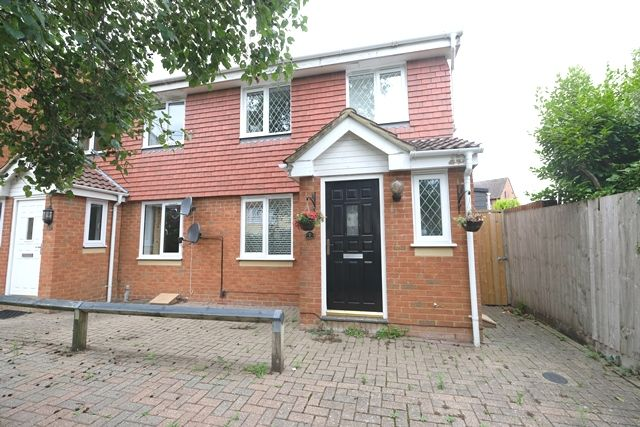 Thumbnail End terrace house for sale in Baytree Gardens, Marchwood