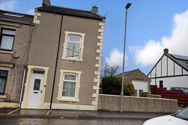 Thumbnail End terrace house for sale in Ennerdale Road, Cleator Moor