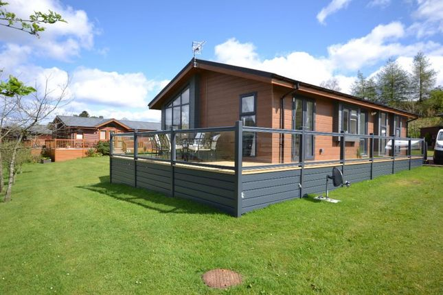 Thumbnail Bungalow for sale in Show Lodge Plot 21, Riverview Holiday Park Mangerton Newcastleton