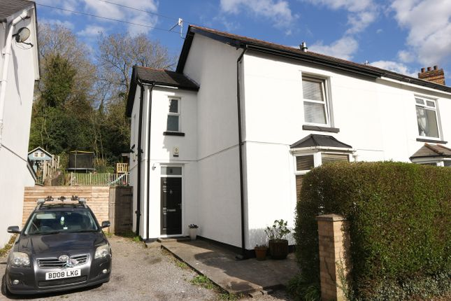 Thumbnail Semi-detached house for sale in The Walk, Merthyr Tydfil