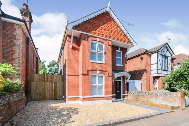 Thumbnail Detached house for sale in Shelbourne Road, Bournemouth