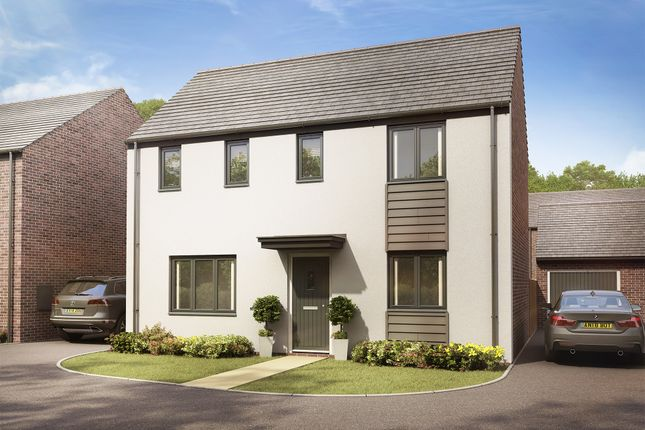 """Thumbnail Detached house for sale in """"The Clayton"""" at Llantrisant Road, Capel Llanilltern, Cardiff"""