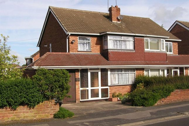 Thumbnail Semi-detached house to rent in Buckingham Drive, Willenhall