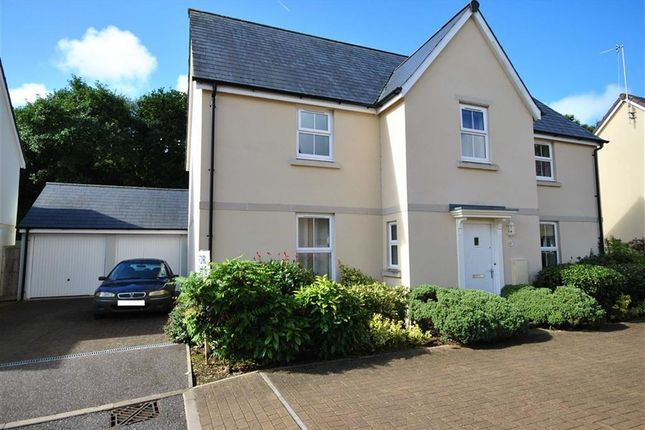 Thumbnail Detached house for sale in Sampson's Plantation, Fremington, Barnstaple