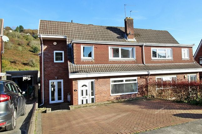 Thumbnail Semi-detached house for sale in Greenlands Road, Llantrisant, Pontyclun, Rhondda, Cynon, Taff.