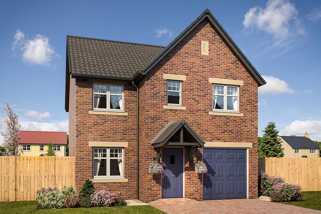 "Thumbnail Detached house for sale in ""Doxford"" at Mason Avenue, Consett"