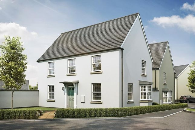 "Thumbnail Detached house for sale in ""Cornell"" at Redmoor Close, Tavistock"