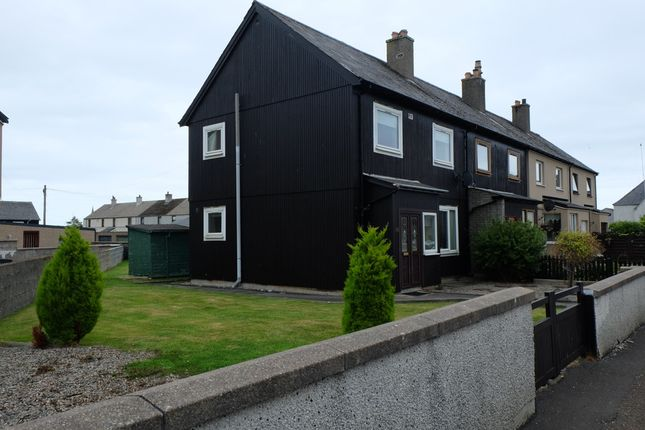 Thumbnail End terrace house for sale in Robertson Square, Wick