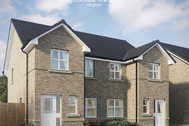 Thumbnail Semi-detached house for sale in Kilcruik Road, Kinghorn, Burntisland, Fife