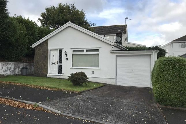 Thumbnail Detached bungalow for sale in Talywern, Llangennech, Llanelli