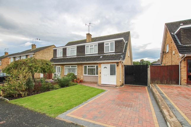 Thumbnail Semi-detached house for sale in Broxbourne Close, Cherry Hinton, Cambridge