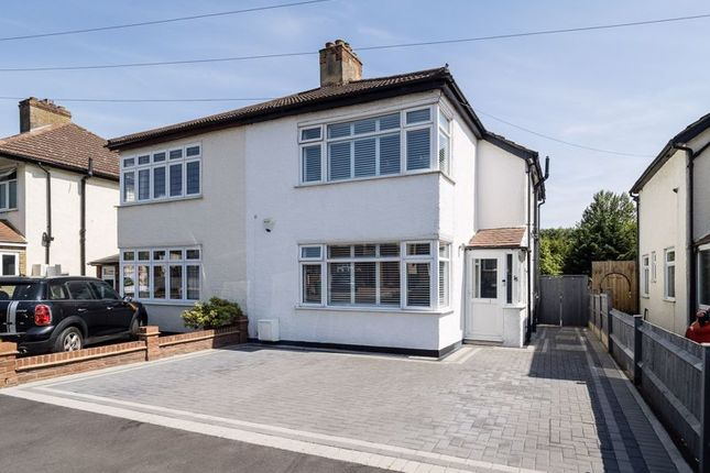 Thumbnail Semi-detached house for sale in Church Road, Harold Wood, Romford