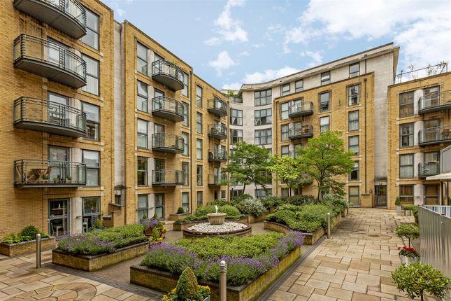 Communal Gardens of Chelsea Gate Apartments, 93 Ebury Bridge Road, Chelsea, London SW1W