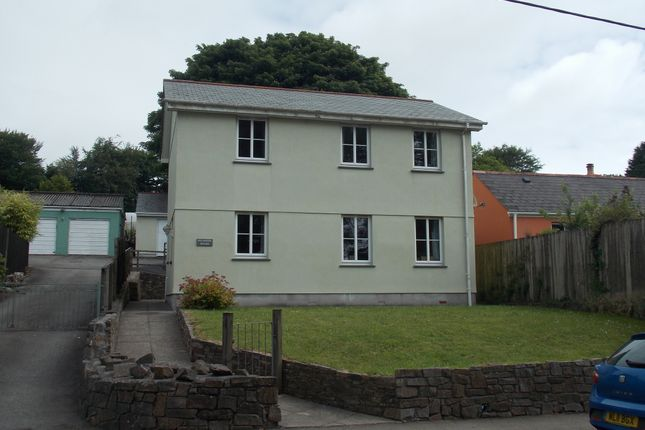 Thumbnail Detached house to rent in St. Anns Chapel, Gunnislake