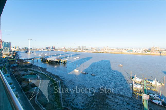 Balcony View of Bessemer Place, North Greenwich, London SE10