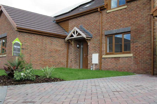Thumbnail Detached bungalow for sale in Glanfryn Court, Drefach, Llanelli
