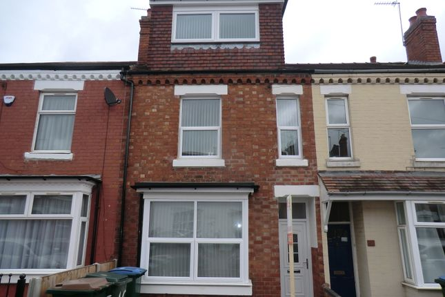 Thumbnail Terraced house to rent in Arden Street, Earlsdon, Coventry