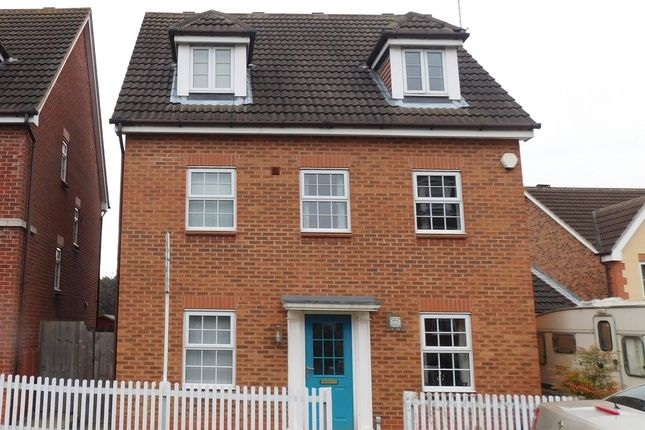 Thumbnail Detached house for sale in Emmerson Drive, Clipstone Village, Mansfield