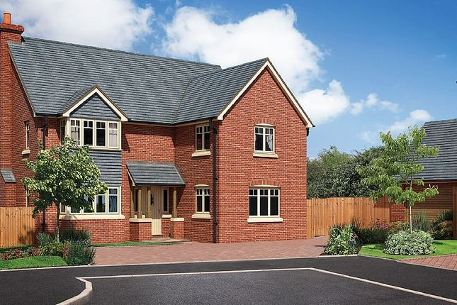 Thumbnail Detached house for sale in The Caldecott, The Beeches, Chester Road, Whitchurch, Shropshire
