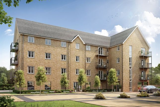"Thumbnail Flat for sale in ""Block 1 "" at Ware Road, Hertford"