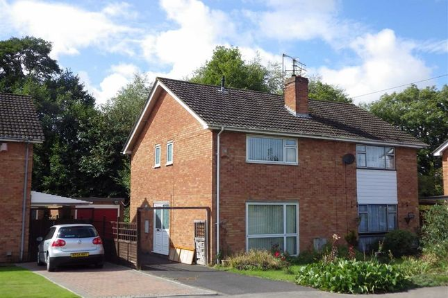 Thumbnail Semi-detached house for sale in Bodiam Avenue, Tuffley, Gloucester