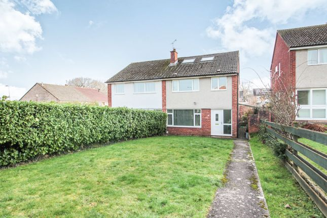 Thumbnail Semi-detached house for sale in Hill Rise, Llanedeyrn
