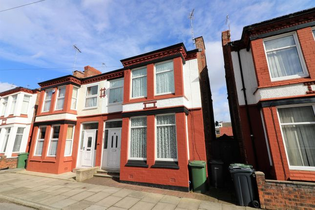 Thumbnail Semi-detached house to rent in Wyndham Road, Wallasey