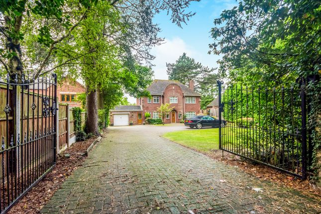 Thumbnail Detached house for sale in New Penkridge Road, Cannock