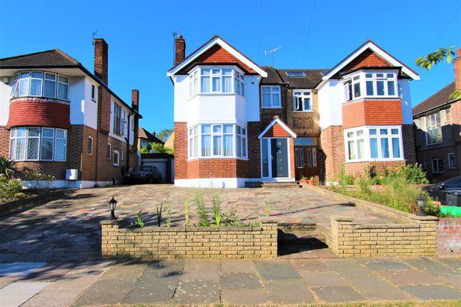 Thumbnail Semi-detached house for sale in Morton Way, Southgate, London