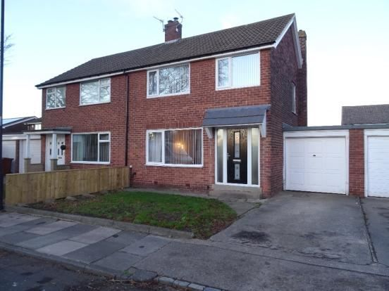 Thumbnail Semi-detached house for sale in Chapel House Grove, Newcastle Upon Tyne