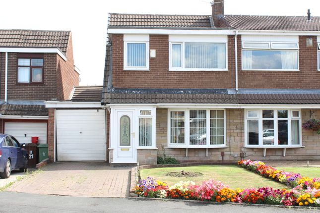 Thumbnail Semi-detached house for sale in Andover Crescent, Winstanley, Wigan