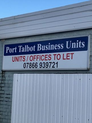 Thumbnail Light industrial to let in Port Talbot Business Units, Addison Road, Port Talbot, West Glamorgan