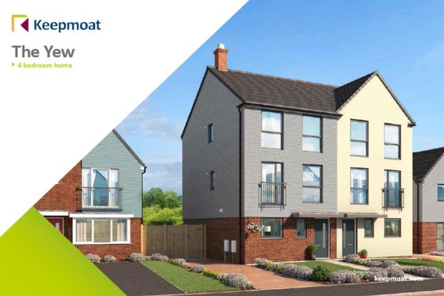 Thumbnail Semi-detached house for sale in Little Eaves Lane, Stoke-On-Trent