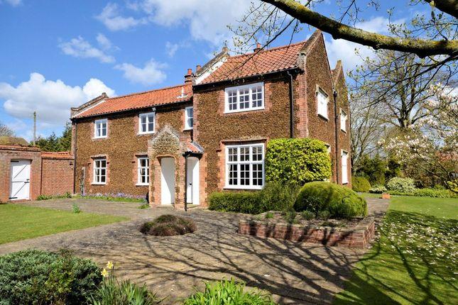 Thumbnail Detached house for sale in Church Lane, Roydon, King's Lynn