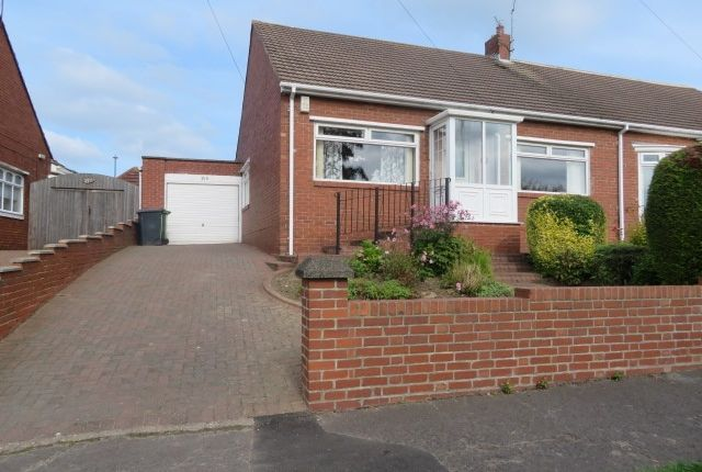 Thumbnail 2 bed semi-detached bungalow for sale in Temple Park Road, South Shields