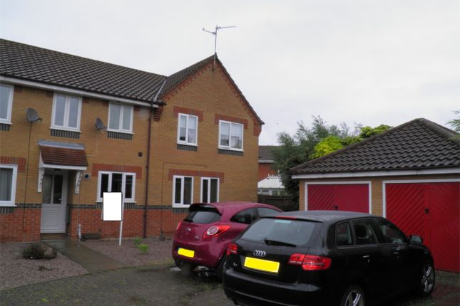 Thumbnail Terraced house to rent in Sorrel Close, Deeping St James, Peterborough, Lincolnshire