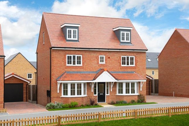 "Thumbnail Detached house for sale in ""Warwick"" at Bearscroft Lane, London Road, Godmanchester, Huntingdon"