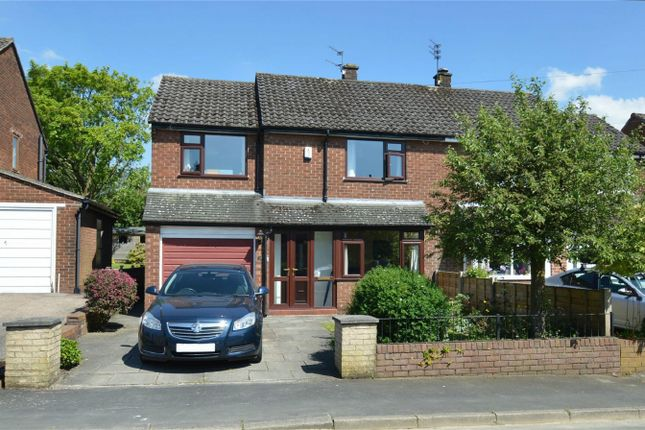 Thumbnail Semi-detached house for sale in Barnfield Road, Bollington, Macclesfield, Cheshire