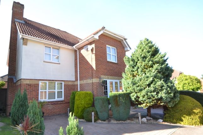 Thumbnail Detached house for sale in Laurie Gray Avenue, Blue Bell Hill, Chatham