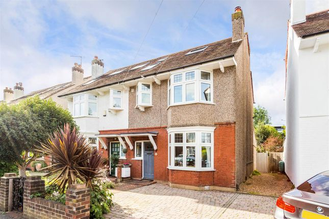 Thumbnail Property for sale in Camberley Avenue, West Wimbledon