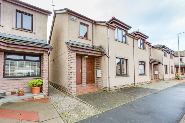 Thumbnail 2 bed terraced house for sale in Nursery Crescent, Montrose