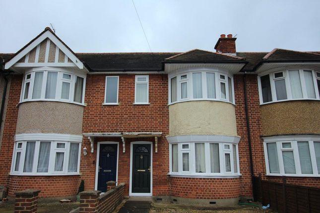 Thumbnail Terraced house to rent in Braintree Road, Ruislip Manor, Ruislip