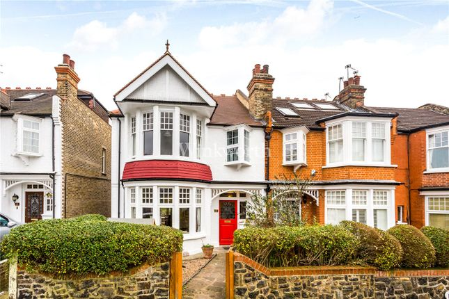 Thumbnail End terrace house for sale in Conway Road, London
