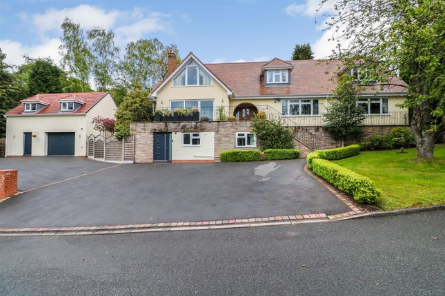 Thumbnail Detached house for sale in Stoneleigh Close, Sutton Coldfield